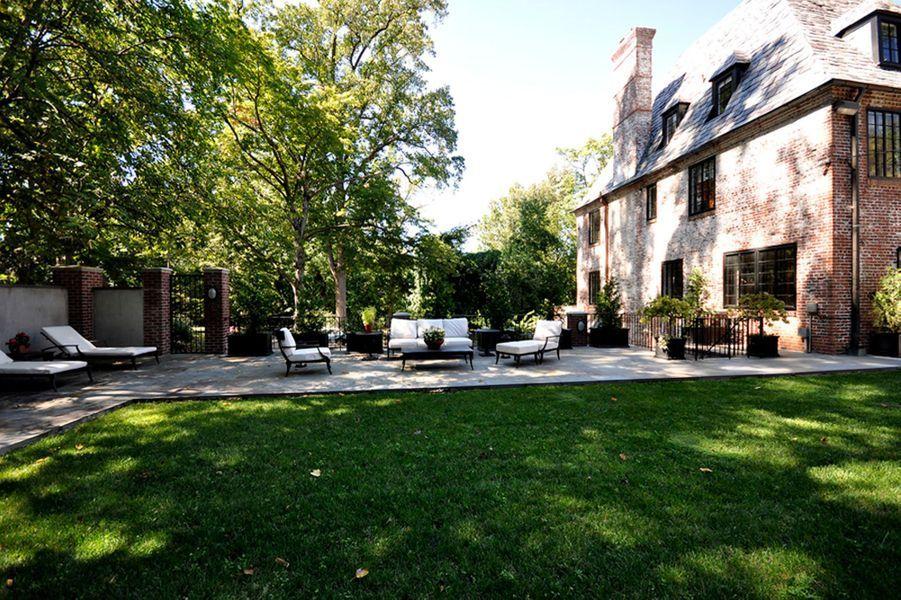 La maison de Michelle et Barack Obama à Washington.