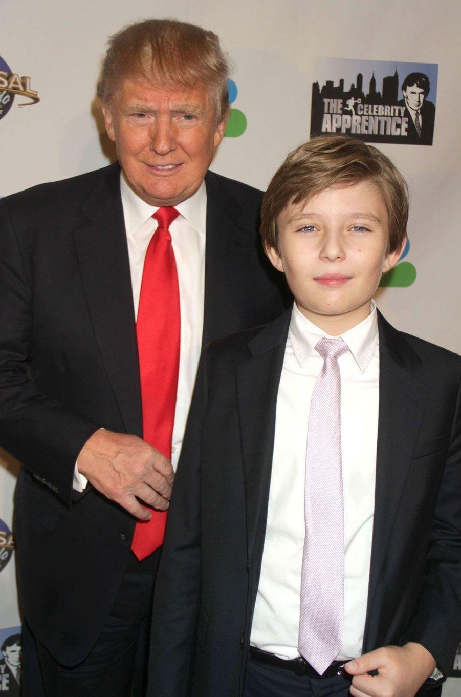 "2015. Barron Trump, le ""petit Donald"""