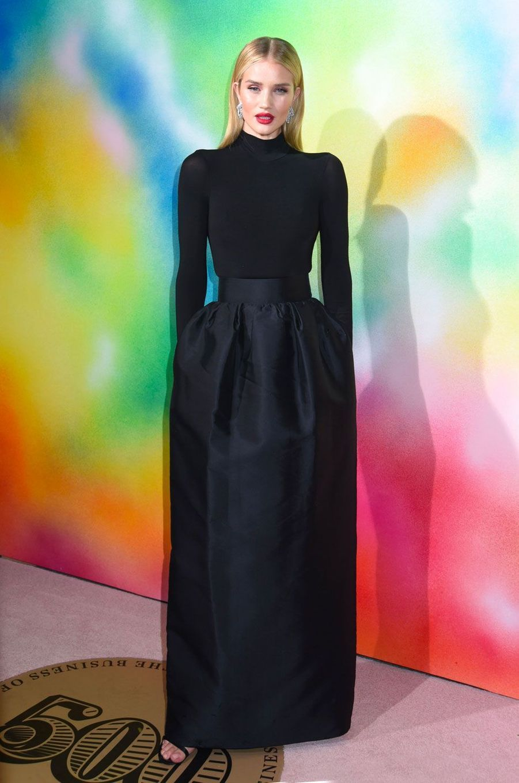 Rosie Huntington-Whiteley à la soirée Business of Fashion, à New York le 9 septembre 2018