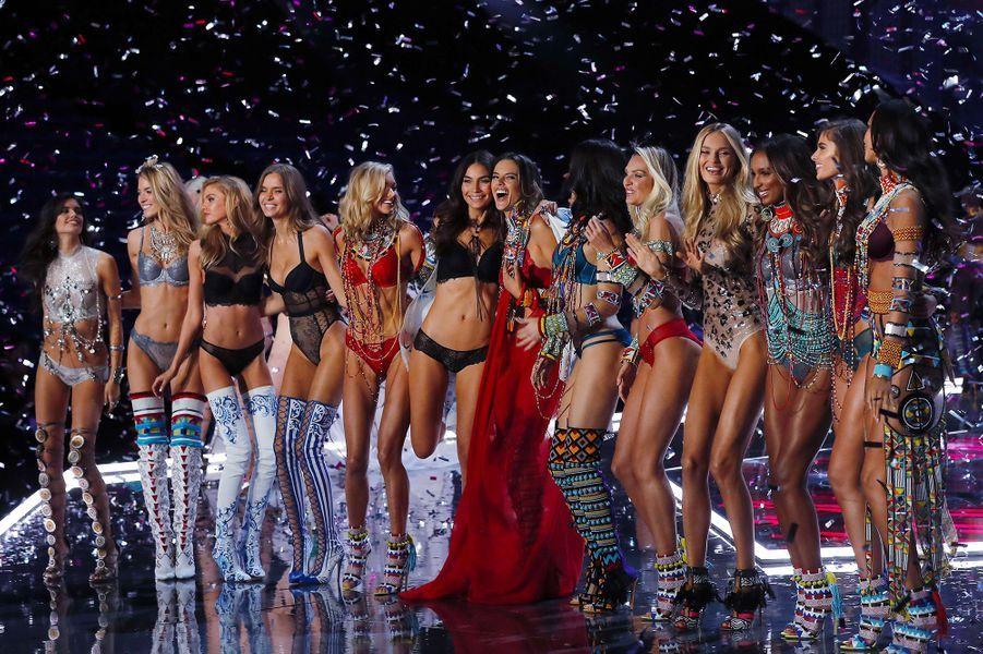 Les Anges du Victoria's Secret Fashion Show à Shanghai