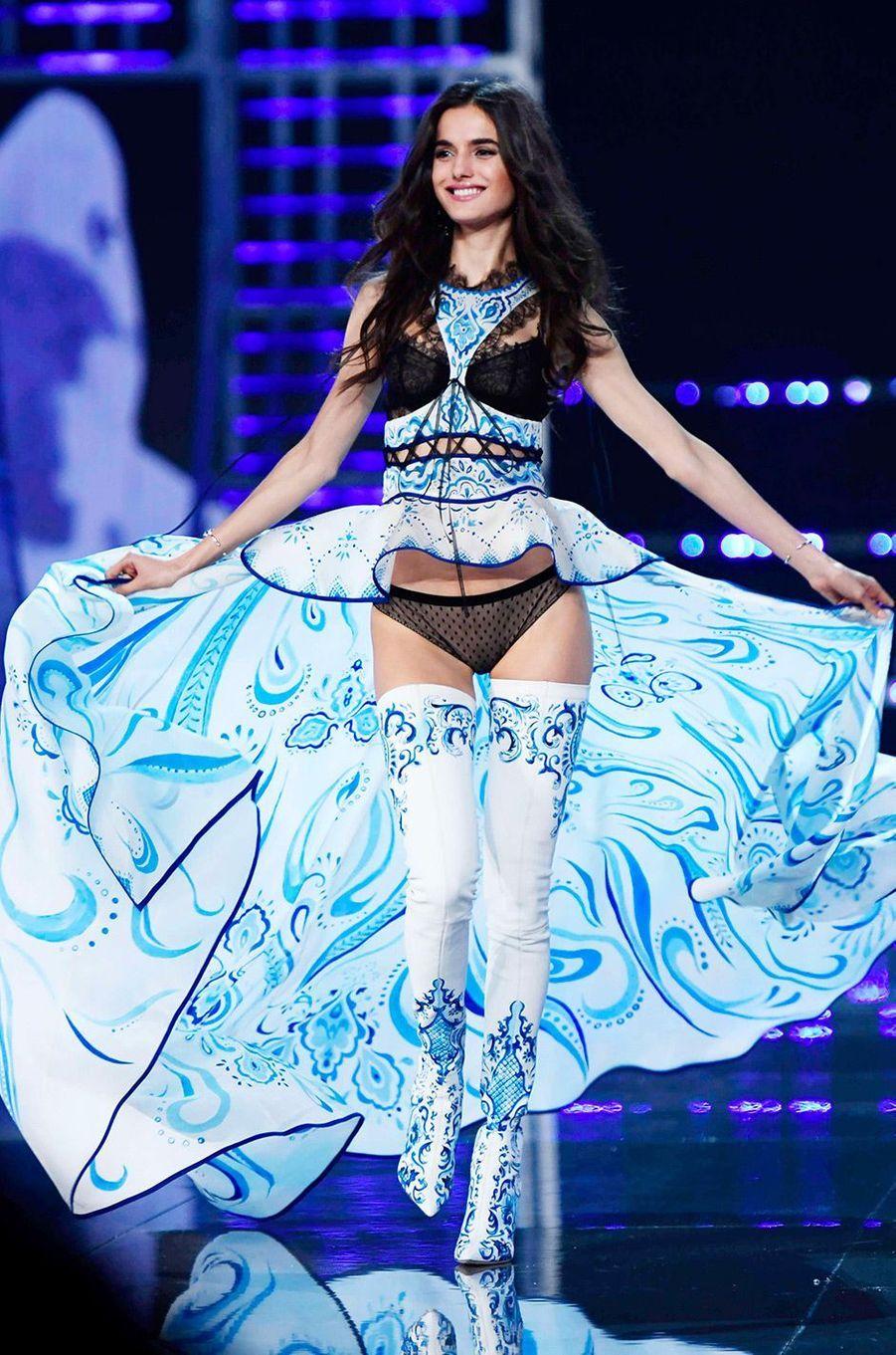 Blanca Padilla au Victoria's Secret Fashion Show à Shanghai