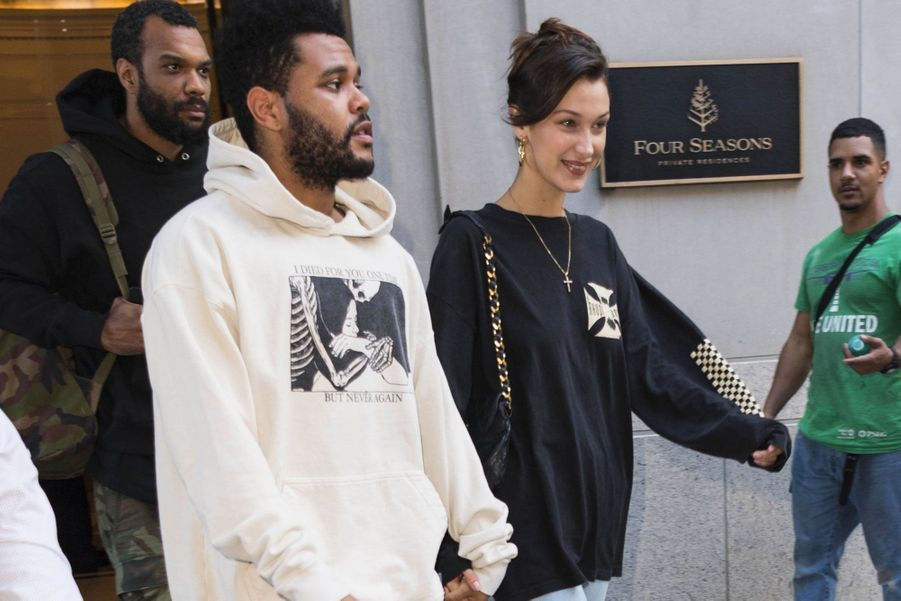 Bella Hadid et The Weeknd à New York le 3 octobre 2018