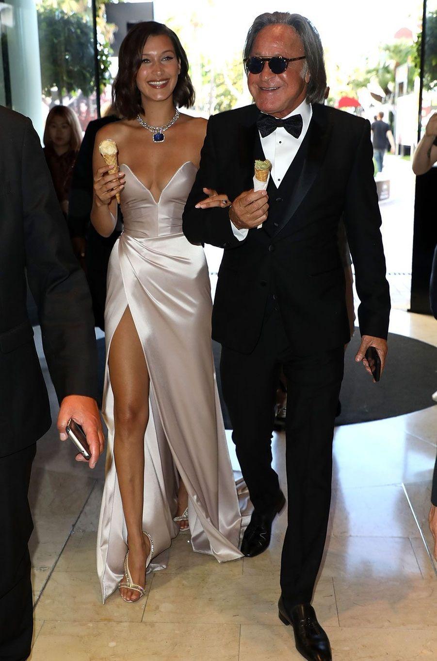 Bella Hadid et Mohamed Hadid