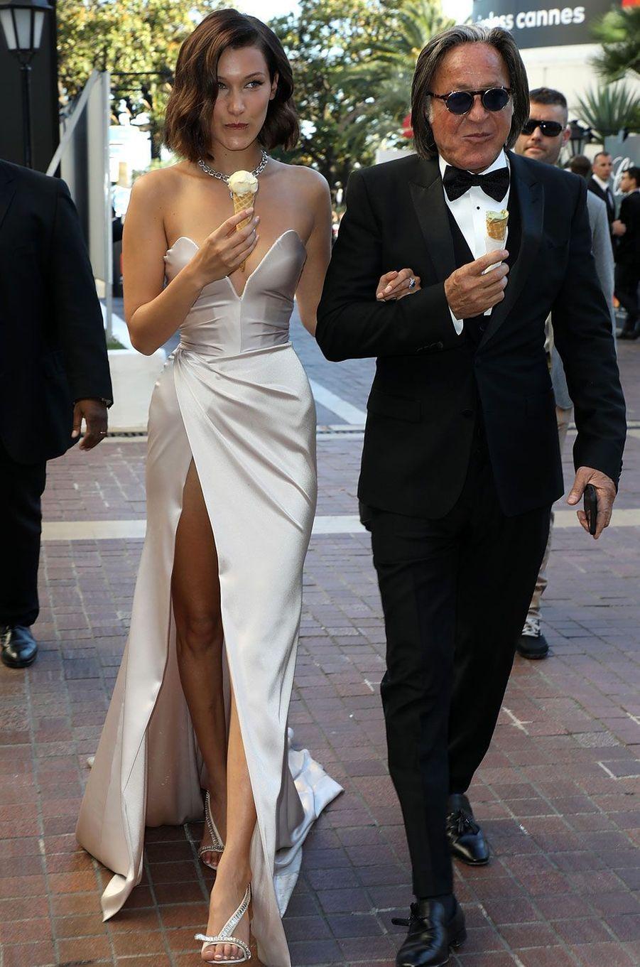 Bella Hadid et son père Mohamed Hadid