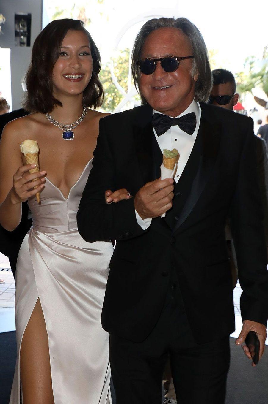 Bella Hadid et son père