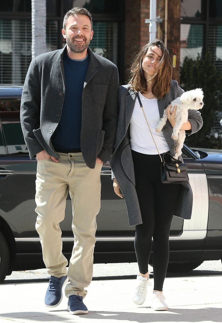 Ben Affleck et Ana de Armas à Los Angeles le 18 mars 2020