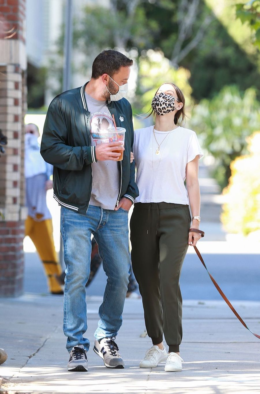 Ben Affleck et Ana de Armas à Los Angeles le 14 mai 2020