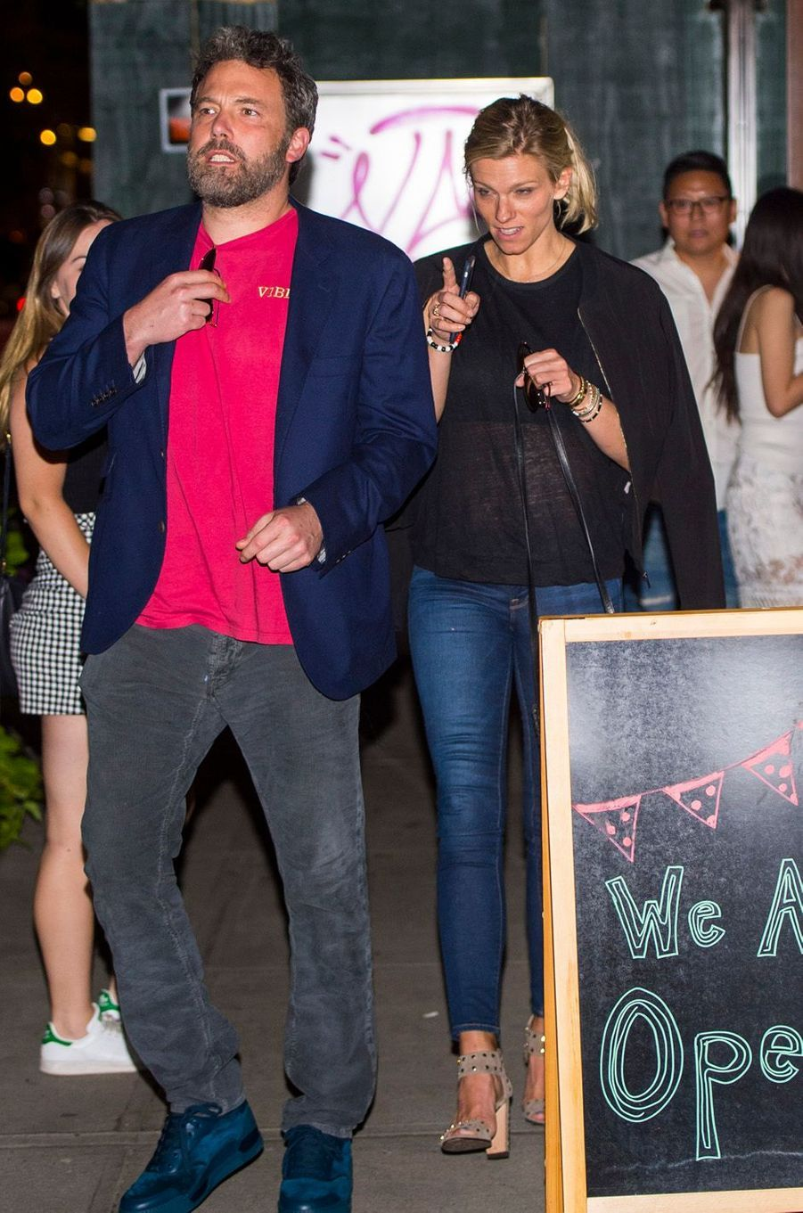 Ben Affleck et Lindsay Shookus, le 20 août 2017.