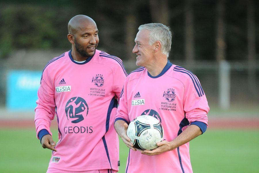 Olivier Dacourt et Didier Deschamps