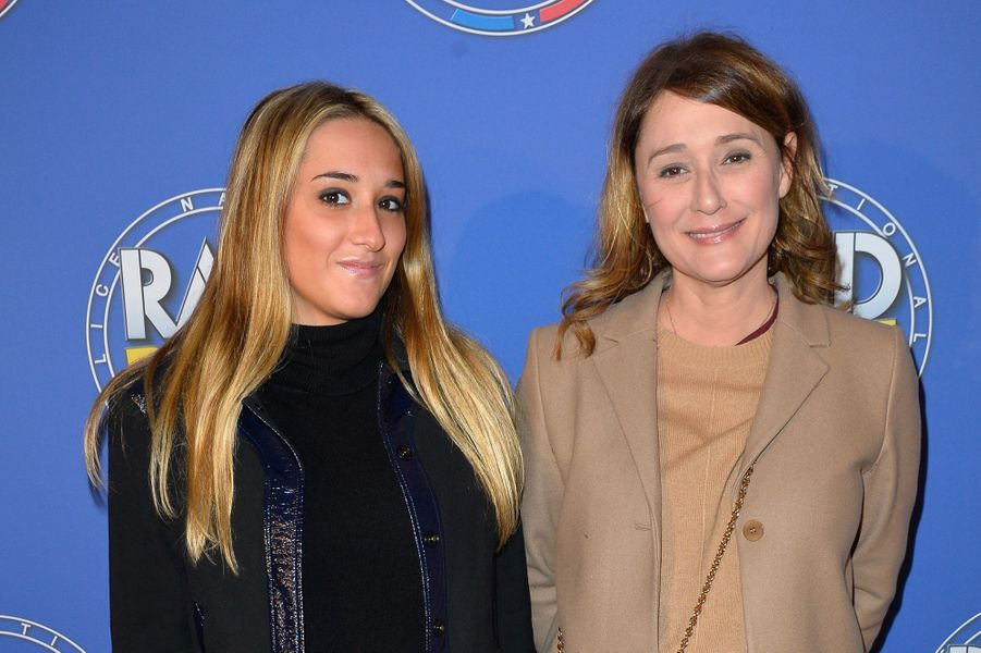 Daniela Lumbroso avec sa fille.