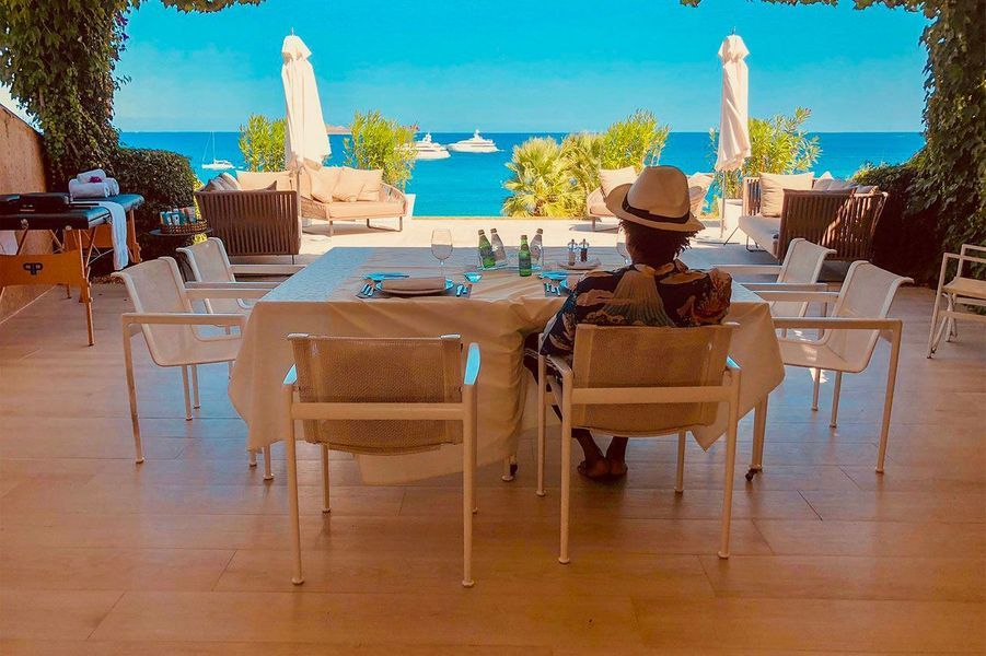Jay-Z en Sardaigne, le 4 septembre 2018