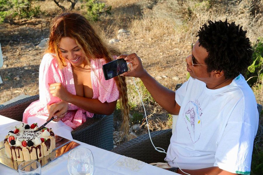 Beyoncé et Jay-Z en Sardaigne, le 4 septembre 2018