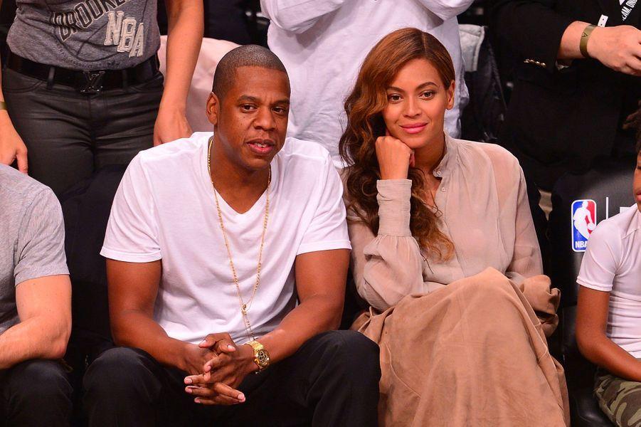 Beyoncé et Jay-Z le 10 mai 2014