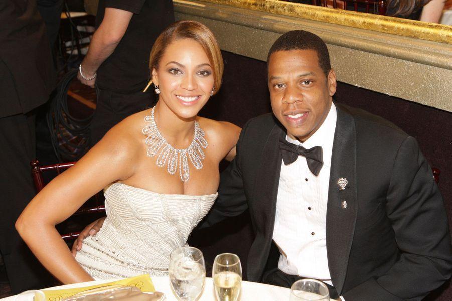 Beyoncé et Jay-Z le 11 janvier 2009