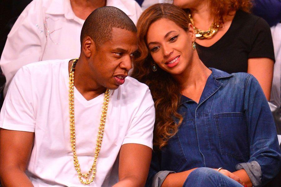 Beyoncé et Jay-Z le 12 mai 2014