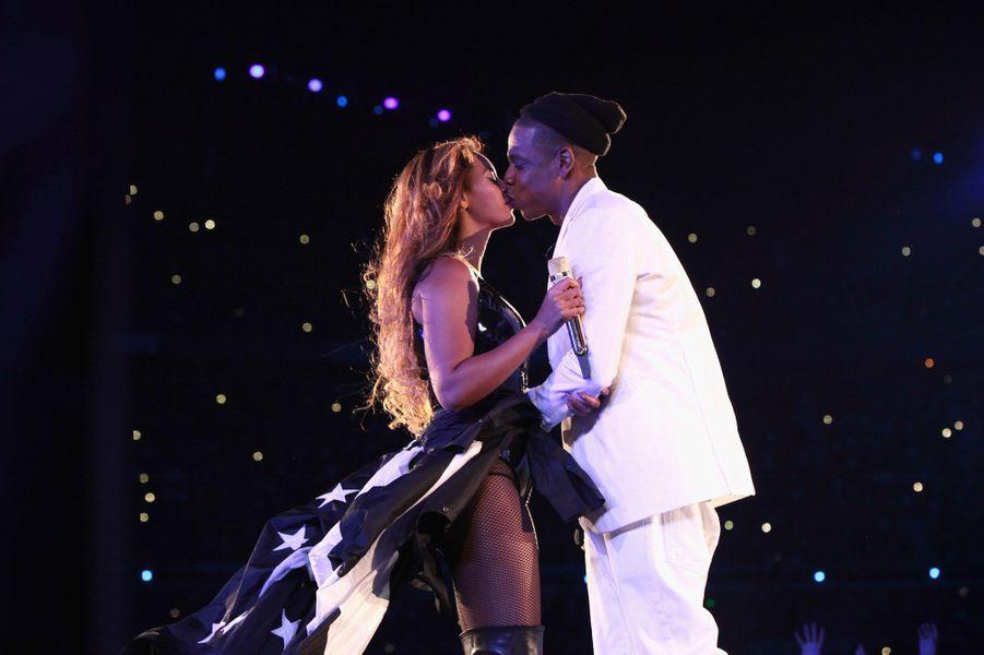 Beyoncé et Jay-Z le 12 septembre 2014