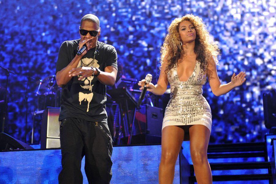 Beyoncé et Jay-Z le 15 septembre 2011
