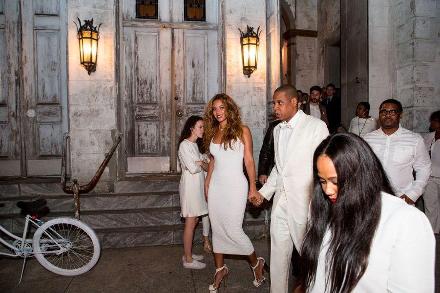 Beyoncé et Jay-Z le 16 novembre 2014