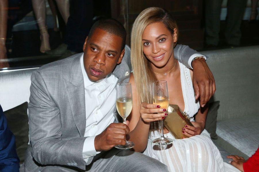 Beyoncé et Jay-Z le 17 juin 2013