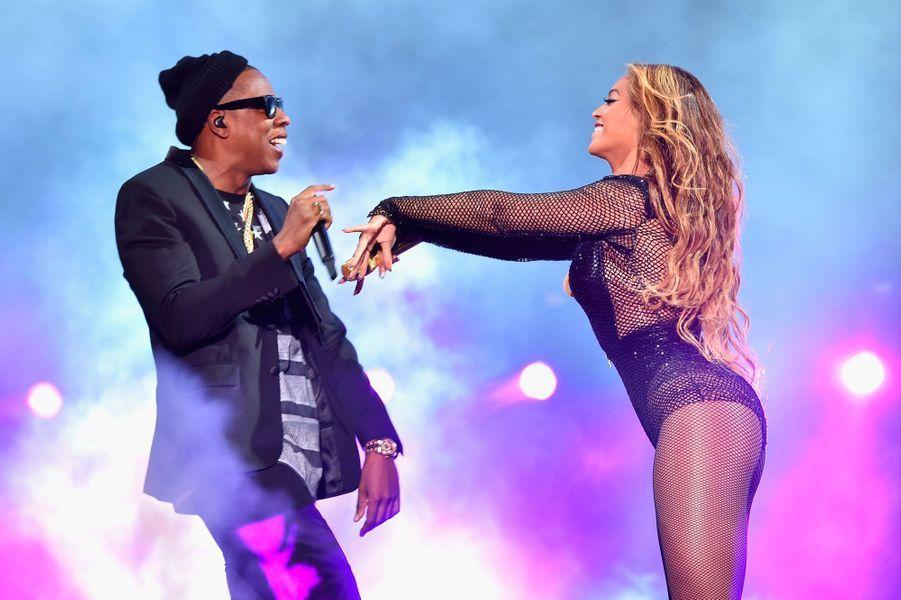 Beyoncé et Jay-Z le 24 juillet 2014