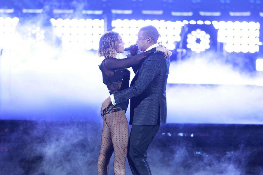 Beyoncé et Jay-Z le 26 janvier 2014