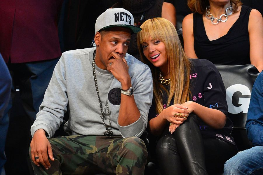 Beyoncé et Jay-Z le 26 novembre 2012