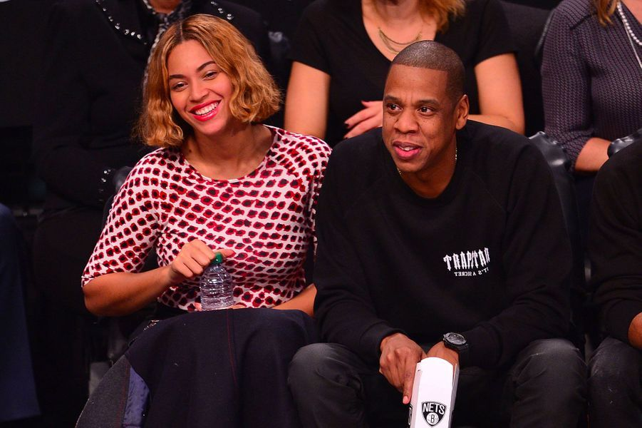 Beyoncé et Jay-Z le 2 novembre 2014