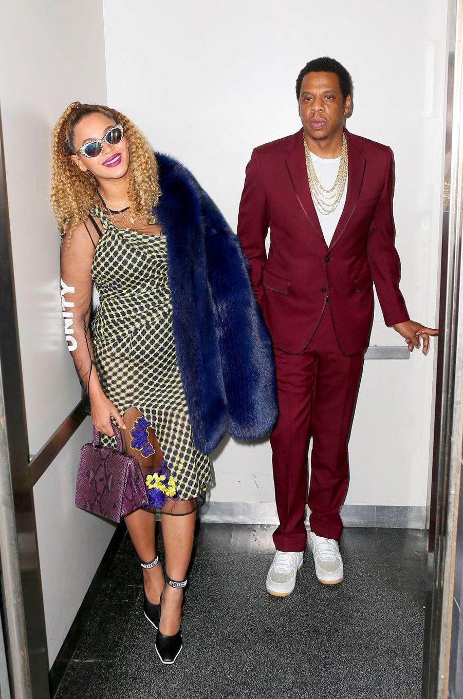 Beyoncé et Jay-Z le 4 décembre 2017