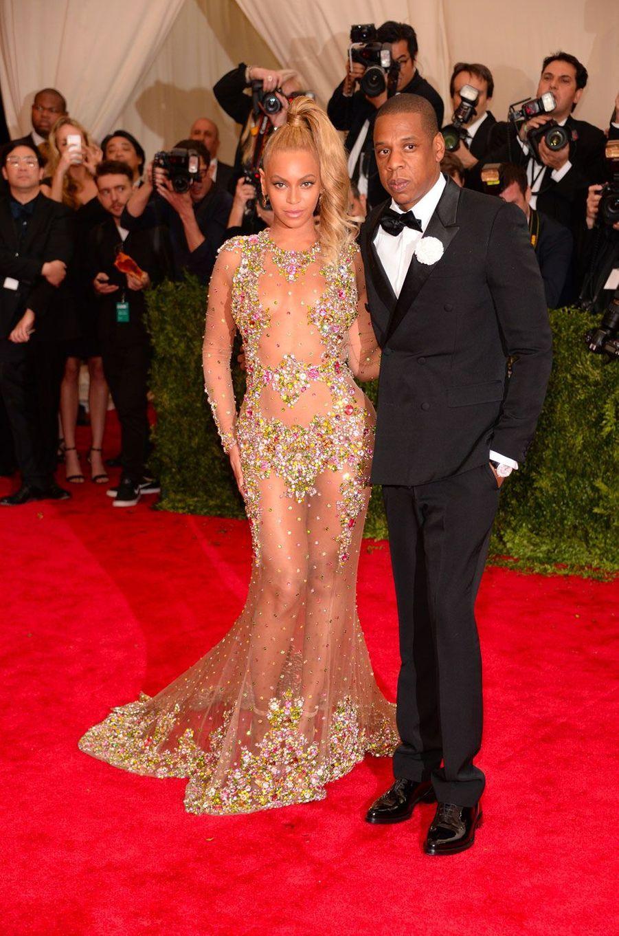 Beyoncé et Jay-Z le 4 mai 2015