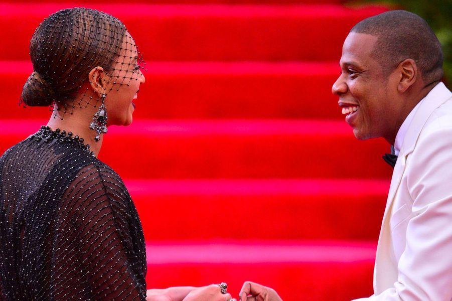 Beyoncé et Jay-Z le 5 mai 2014
