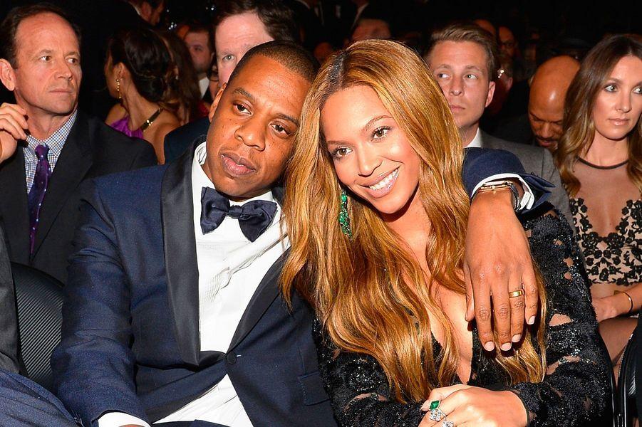 Beyoncé et Jay-Z le 8 février 2015