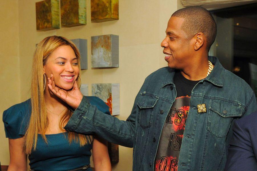 Beyoncé et Jay-Z le 8 mai 2012