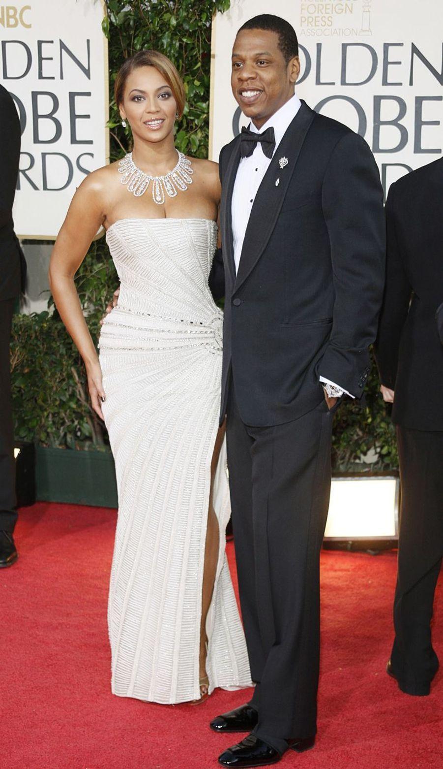 Beyoncé et Jay-Z aux Golden Globes à Beverly Hills en 2009