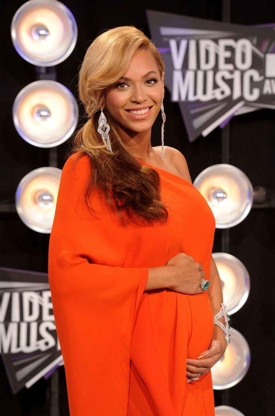 Beyoncé enceinte de Blue Ivy