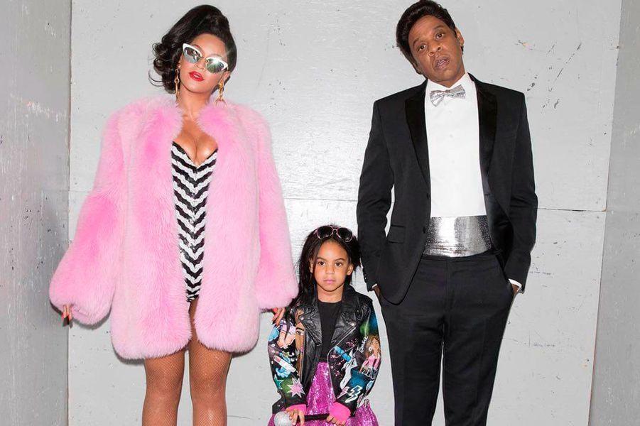 Beyoncé, Blue Ivy et Jay Z