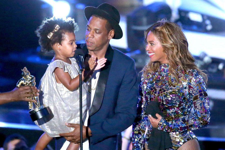 Jay Z, Beyoncé et Blue Ivy