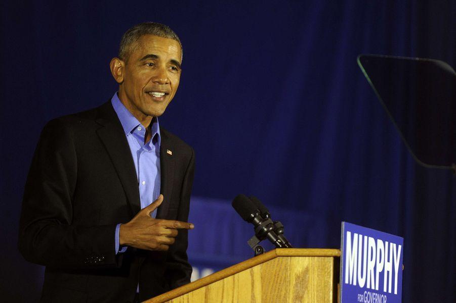 Barack Obama était... vendeur de glaces.
