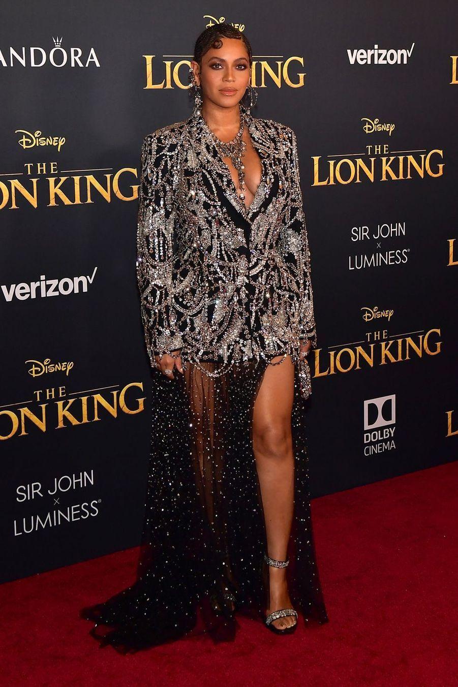 Beyoncé à Los Angeles, le 9 juillet 2019