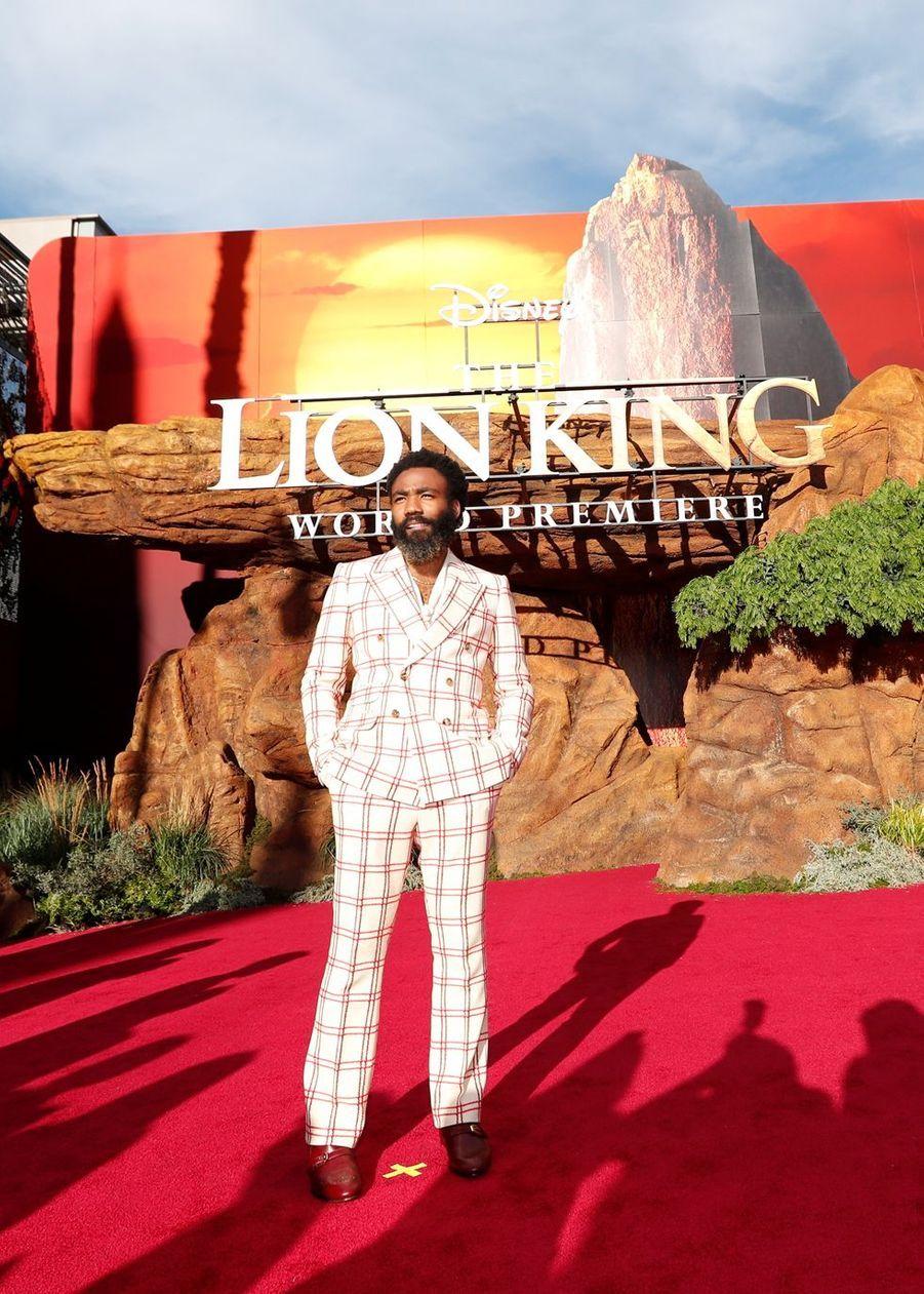 Donald Gloverà Los Angeles, le 9 juillet 2019