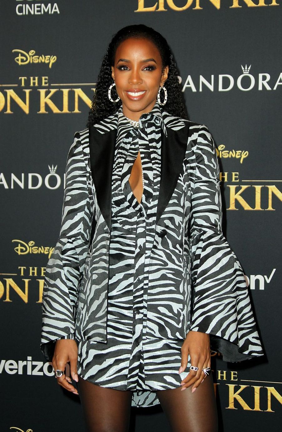 Kelly Rowlandà Los Angeles, le 9 juillet 2019