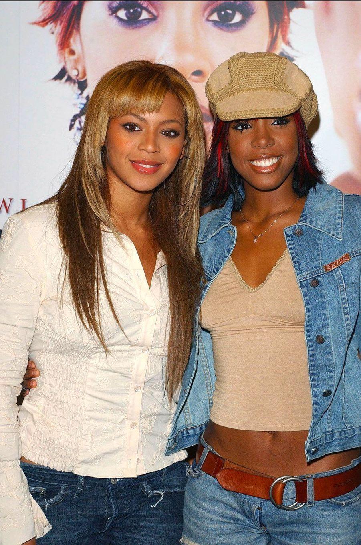Beyoncé et Kelly Rowland en 2002