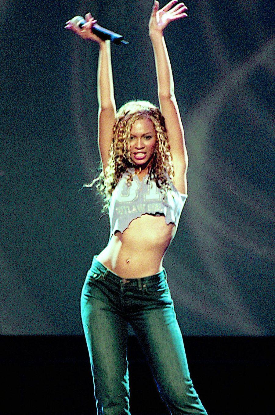 Beyoncé sur scène