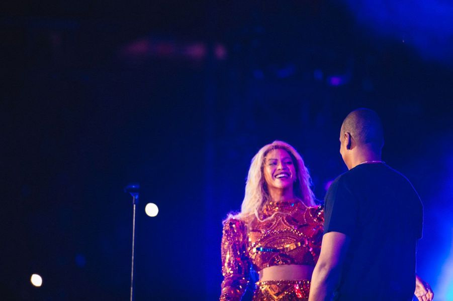 "Jay Z et Beyoncé chantent ""Drunk in love"""