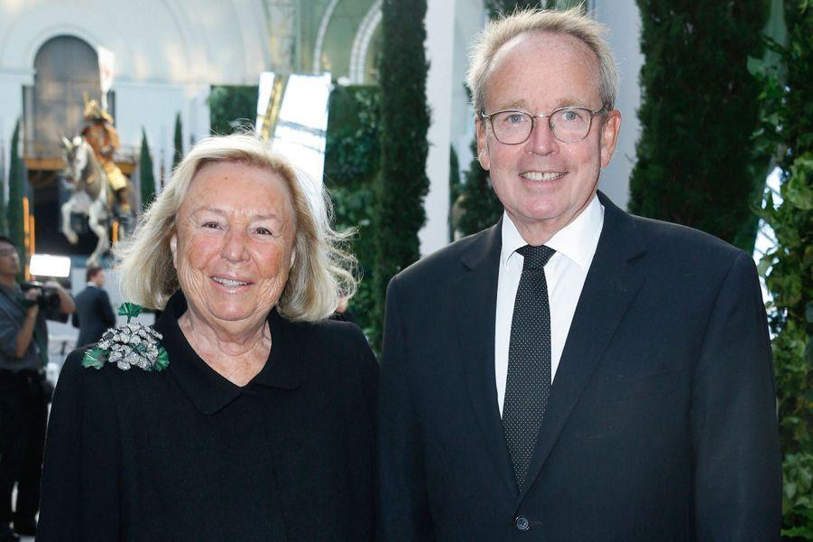 Maryvonne Pinault, Renaud Donnedieu de Vabres.
