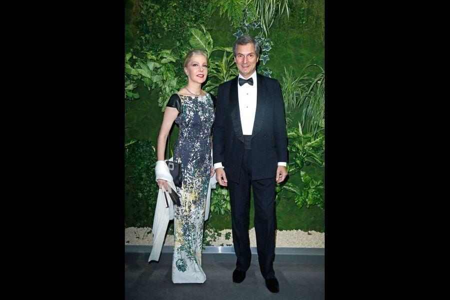 Giada et Giandomenico Magliano, ambassadeur d'Italie.