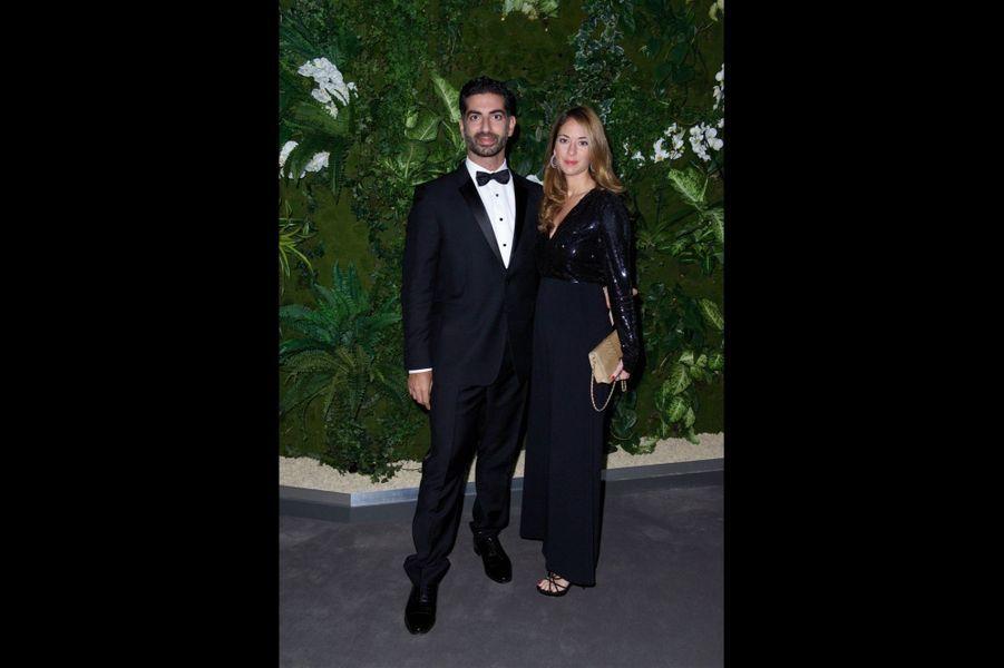 Fahd et Maya Hariri.
