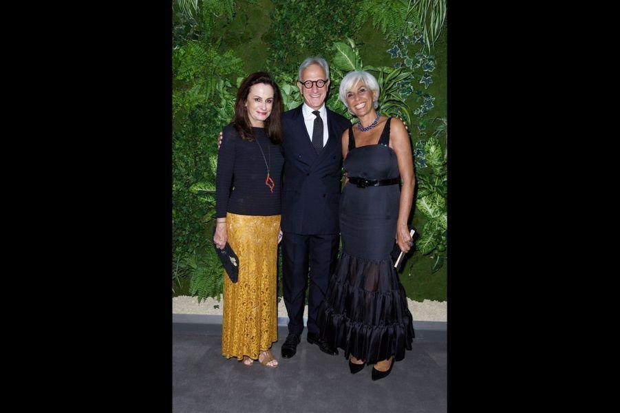 Georgina Brandolini d'Adda, François de Ricqlès, Linda Pinto.