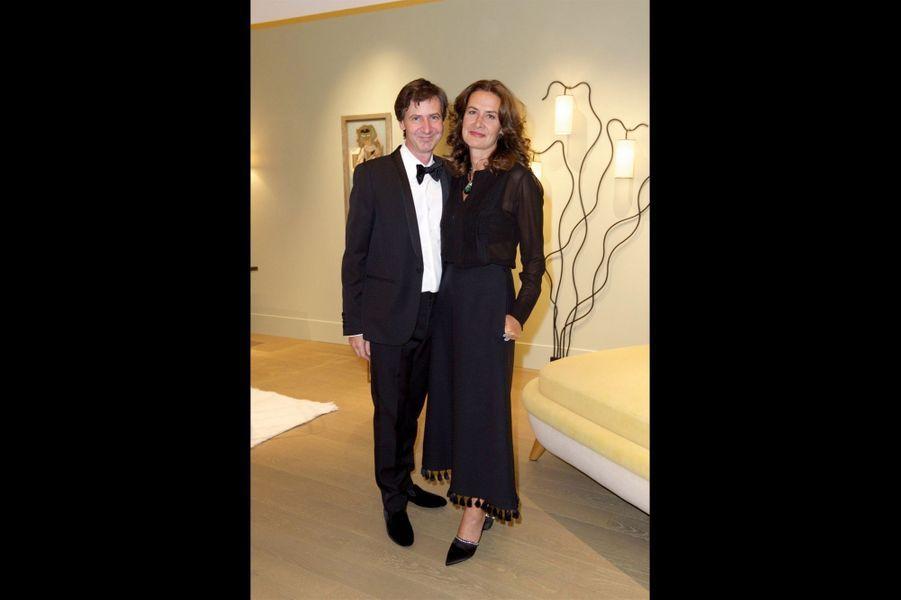Jacques Lacoste et Caroline Sarkozy.