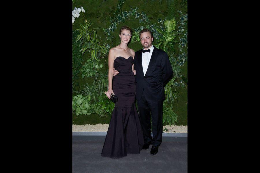Katelyn et Olivier Barbier-Mueller.