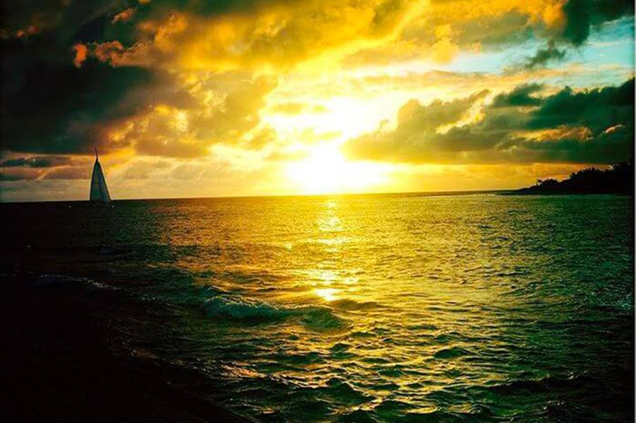 Les vacances en famille de Bixente Lizarazu en Polynésie française